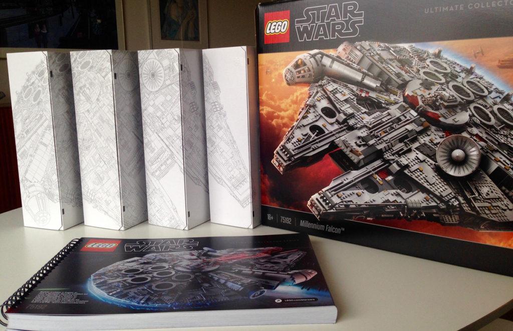 Lego Star Wars Millennium Falcon UCS review
